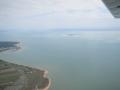 Vue aérienne sur l'Ile d'Aix