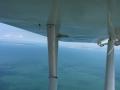 Vue aérienne sur l'Océan atlantique