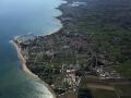 Vue aérienne de l'Ile d'Oléron