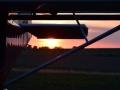Coucher de Soleil sur la base ULM de Reuilly