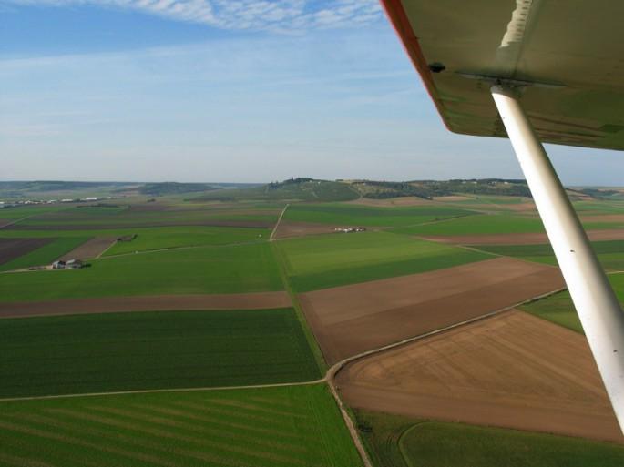 Les champs du côté de Troyes