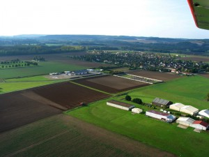 Hangars LFGO - aérodrome Pont-sur-yonne