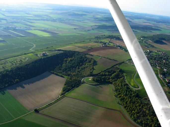 secteur Troyes - vue aérienne