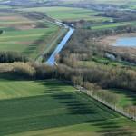 Ecluse d'Egrevin - Bourgogne - vue aérienne