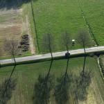 Jeu d'ombres - Saint Florentin - Bourgogne - vue aérienne