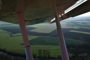 Piste d'atterrissage LFGP – Aérodrome de Saint Florentin – Bourgogne - vue aérienne