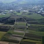 Vignes – Augy – Bourgogne - vue aérienne