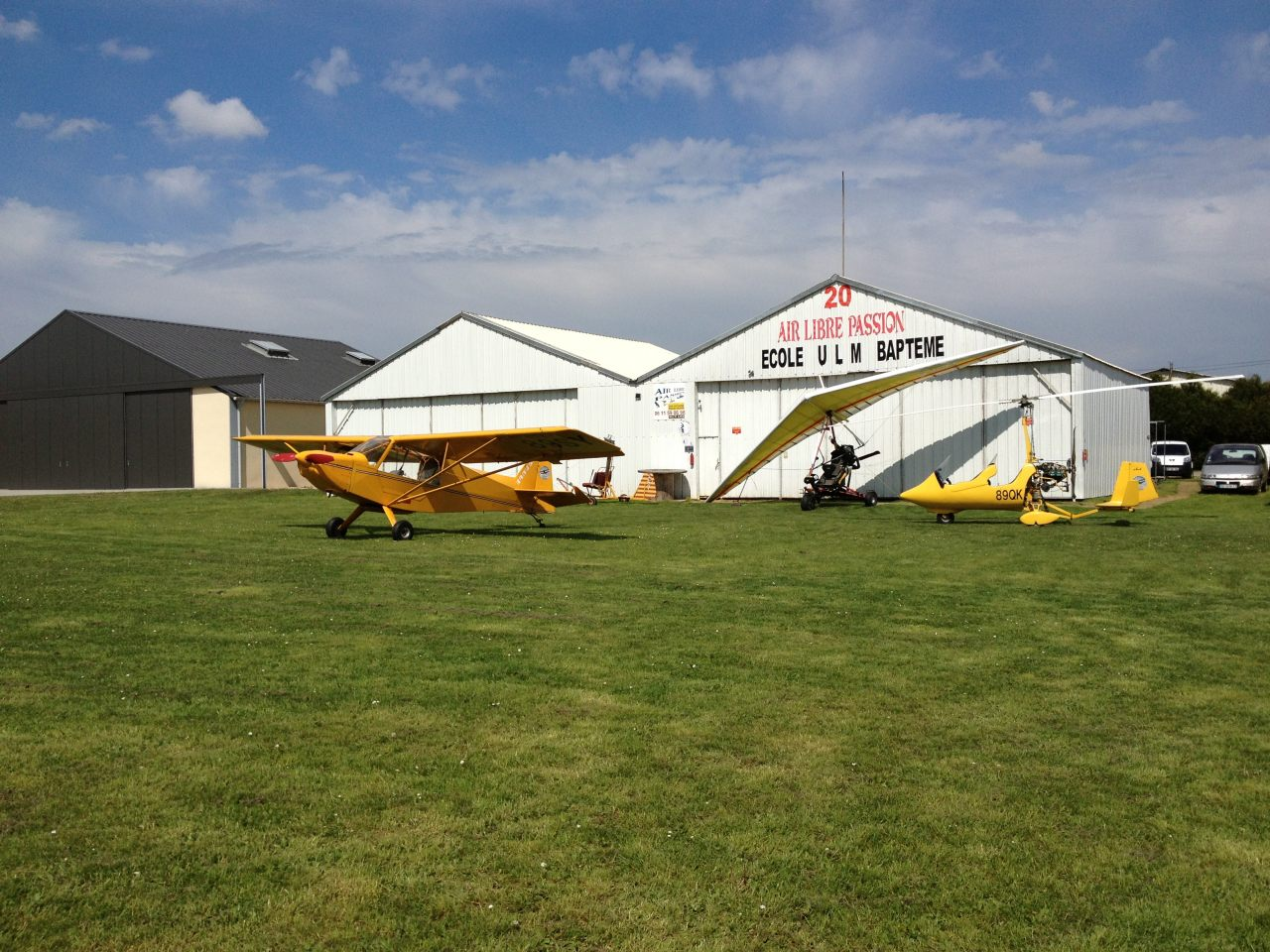 Hangar ULM Air Libre Passion - Bourgogne