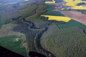 Le Rochereux - Laignes - vue aérienne