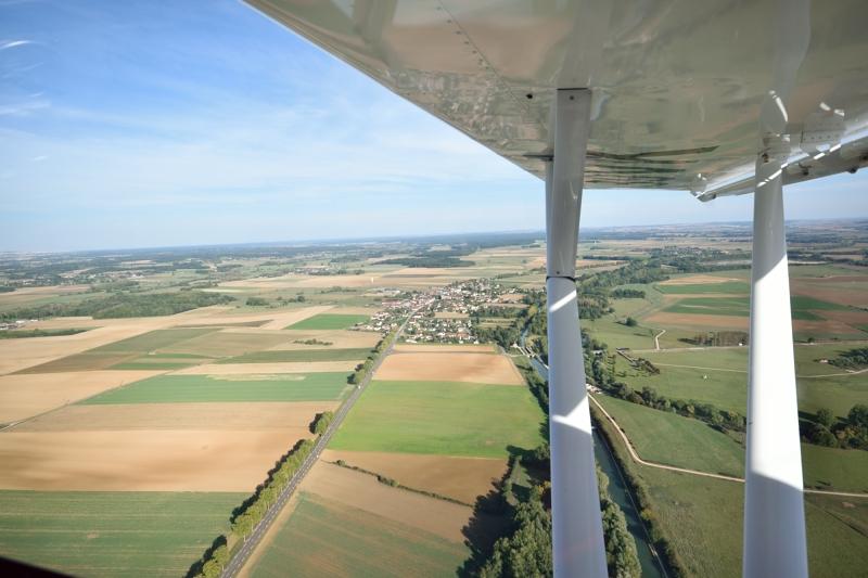 Saint-Florentin - Septembre - vue aérienne