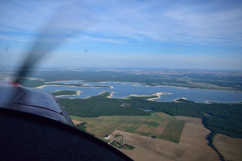 Troyes - Lacs - d'orient - vue aérienne