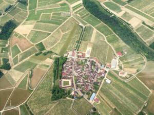 Béru, Bourgogne - France - Vue aérienne