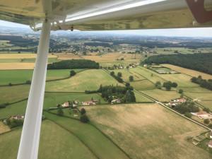 Les Seux, Pouilloux, Bourgogne - France - Vue aéerienne
