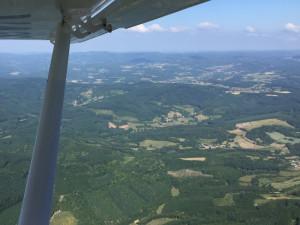 Parc Régional du Morvan -Bourgogne France - Vue aérienne