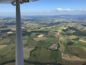 Parc Régional du Morvan -Demetry, Saint-Didier-sur-Arroux, Bourgogne France - Vue aérienne