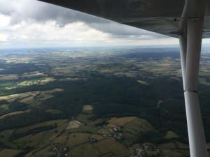 Montagne-de-Bard, Bourgogne France - Vue aérienne